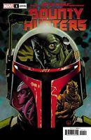 Star Wars Bounty Hunters #1 Johnson Variant Cover 1:50 Boba Fett