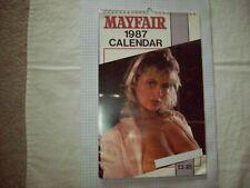 Mayfair Magazine's 1987 Calendar VF Condition