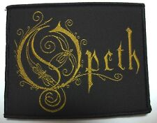 OPETH  ( LOGO )  WOVEN  PATCH