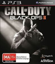 Call of Duty Black Ops II 2 Ps3 Game PlayStation 3 PAL Australian
