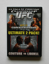 UFC 51 & UFC 52 ULTIMATE 2-DISC COLLECTION COUTURE vs LIDDELL ORTIZ vs BELFORT