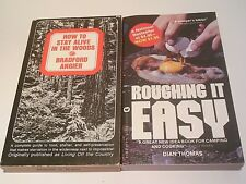 LOT How to Stay Alive in the Woods Roughing It Easy Camping Survival Wilderness