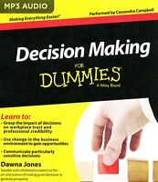 Decision Making for Dummies:  MP3CD Audiobook