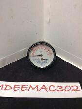 """New listing 2.5"""" Diameter Tridicator Gauge Oem Burnham 1/4"""" Back Outlet Enfm"""