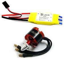 2212 920KV Brushless Motor for DJI F330 F450 F550 X525 Quad Multirotor+30A ESC I