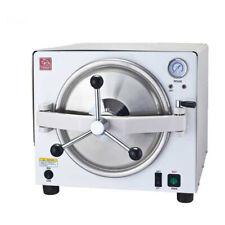 18L Dental Autoclave Steam Sterilizer Medical Sterilization Lab Equipment