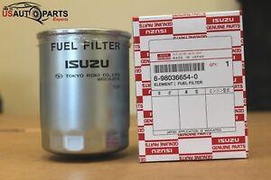 Fuel Filter For ISUZU NPR NQR NRR Evr Frr Fsr FTR FXR 8-98036-654-0
