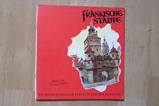 Reiseprospekt Fränkische Städte  Bayern , 48 Seiten , 1956