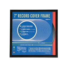 "dotcomgiftshop Black Picture Record Frame 7"" Vinyl Single Size"
