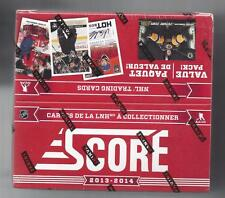 SCORE  FACTORY SEALED 2013-14 HOCKEY HOBBY JUMBO BOX