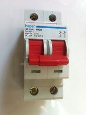 Électrique crabtree fused éperon 13A interrupteur 1 gang blanc vis plaque neuf