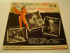 SHELLEY FABARES ,THE THINGS WE DID LAST SUMMER , ORIG,vg++