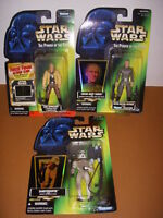 Star Wars Power of the Force, Lot of 3 Action Figures, Skywalker, Tarkin+!
