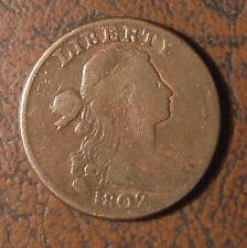 1802 Draped Bust Lg. Cent, S-231, Stemless
