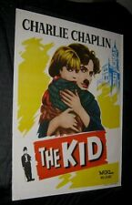 Original Charlie Chaplin The Kid Inde 1 Sheet 29 1.9cm X 39 1.9cm Art