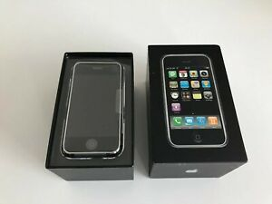 Old Stock Apple iPhone 2g 16gb 1st Generation - Rare UK 02 Supplied
