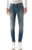 Dondup Jeans Uomo Mod. GEORGE UP232 DS0262 ( W44 ) , Nuovo e Originale , AI19/20