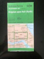 Ordnance Survey Pathfinder Map Kingston upon Hull ( North) 687