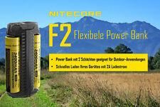Nitecore f2 flexbank OUTDOR/INDOR-Caricabatteria agli ioni batterie
