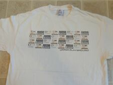UPPER PLAYGROUND Drum Machines T-SHIRT Mens L Electronic Music EDM Hip-Hop Bass