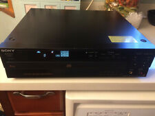 Sony CDP-C601ES 5 Disc CD Changer Player Tested Working * Vintage *