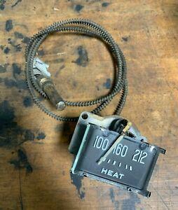 1946 1947 1948 NOS PLYMOUTH TEMPERATURE DASHBOARD TEMPERATURE GAUGE