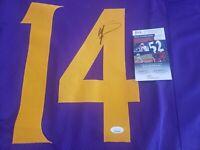 Stefon Diggs Autograph Minnesota Vikings Footbal Jersey XL - JSA Certified COA