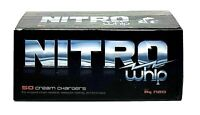 50 NITRO whip 8g Whipped Cream Chargers N  premium Black label Real 1 box of 50