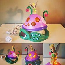 Tinkerbell Light Up Alarm Clock Radio AM/FM - Lights - Disney - Tested & Working