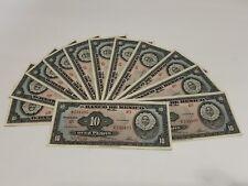 Mexican UNC /& AUnc Notes 5 Pesos 1972 P-62 10 Pesos 1977 P63 /& 1000 Pesos P-85