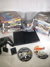 PS2 Console Lot Of 22 Games