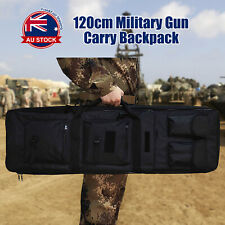Tactical Military Dual Gun Rifle Carry Case Backpack Bag for Hunting Shooting