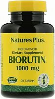 Biorutin, Supports Healthy Capillaries, 1000 mg, 90 Tablets, By Nature's Plus