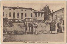 S.VITO AL TAGLIAMENTO - PALAZZO CONTI ROTA (PORDENONE) 1939