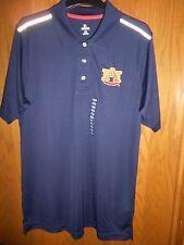 Auburn University Mens Navy Dri-fit Polo Size: Medium NWT