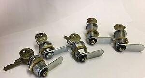 30 x 20mm Cam Locks Keyed Alike