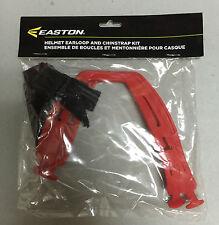 Easton E-Series Hockey Helmet Ear Loops and Chin Strap! Slings Loop 5 Colors