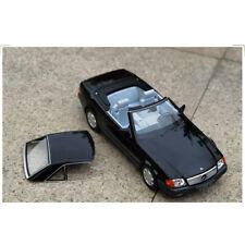 1993 Mercedes-Benz 500 SL R129 Diecast Car Model in Blue 1:18 Scale