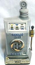 Nice Reno 1968 Slot Machine Decanter Empty