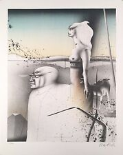 "Paul Wunderlich, Ltd. Ed. Original lithograph, hand signed,""Paar mit Hund"""