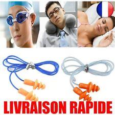 10 pcs Doux Silicone Bouchons D'oreille Protecteur Réutilisable Protection Bruit