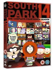 SOUTH PARK - Series 14 - All Episode Fourteenth Season (2012) 3-Disc Box Set DVD