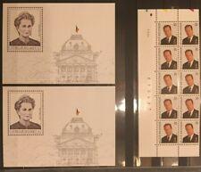 Belgique, België, 2 Blocs + timbres neufs MNH, bien