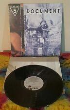 R.E.M~Document~1987 Original 1st Press~EX Vinyl~
