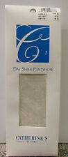 NIB! CATHERINES PLUS DAY SHEER PANTYHOSE NYLONS SIZE D LINEN FULL FIGURE 300-335