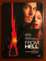 From Hell (DVD, 2001) - F0317