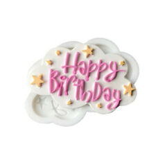 Happy Birthday Letters Cake Embosser Fondant Biscuit Cookie Baking Molds AA