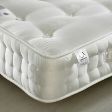 Happy Beds Mattress 2ft6 Small Single Organic 2000 Pocket Sprung Damask Bedroom