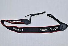 CANON  BLACK/RED/WHITE GENUINE SHOULDER NECK STRAP FOR EOS DSLR CAMERA *C112**