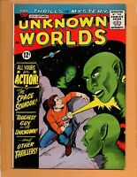 Unknown Worlds #34 September 1964 FN+